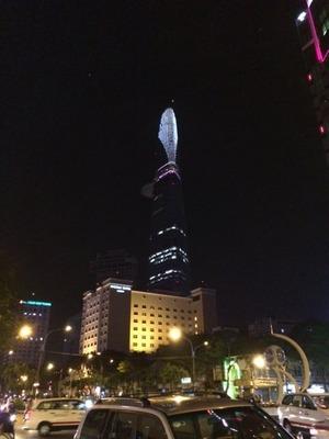 ホーチミン 夜景
