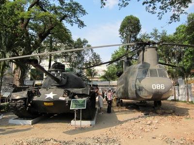 戦争証跡博物館/ベトナム ホーチミン