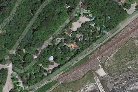篠沢大滝キャンプ場map04