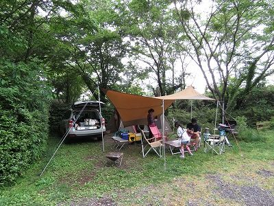 有野 実 苑 オート キャンプ 場 天気