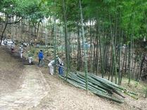 プール竹灯籠まつり5