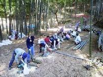 国際竹灯籠製作