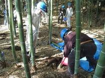 111204竹林管理コース冬の施肥