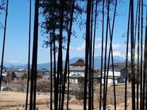 富士山と南アルプスを望んで