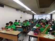 竹の声音楽団控室