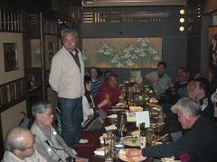 080309第9回竹林管理コース 懇親会(花の舞)