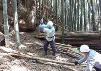 201031竹林整備割り処分