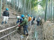 縮小 150215竹林管理コース竹垣つくり