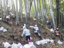 140921国際竹灯籠設置と間伐 (2) - コピー