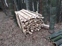 竹割器使用 積み上げφ200&φ100 その2