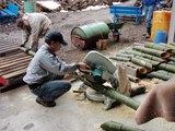 080212こどもの国竹灯籠作り