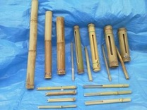 130725各種竹楽器