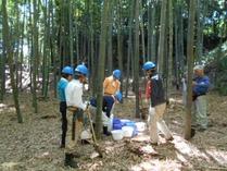 竹林管理コース お礼肥