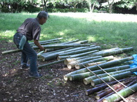 080601集積した竹水筒