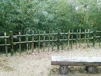 130112間伐&竹垣つくり