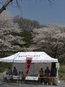 080403こどもの国日本の竹ファンクラブテント