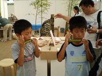 090818竹笛つくり