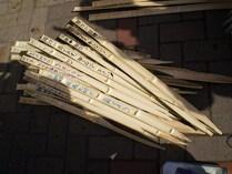 090222タケノコの保護棒作り