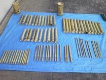 縮小 竹楽器材