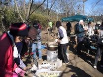 100124愛川町間伐&野外料理