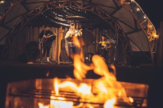 焚火からステージ