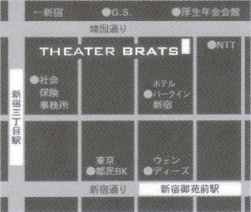 劇場周辺地図
