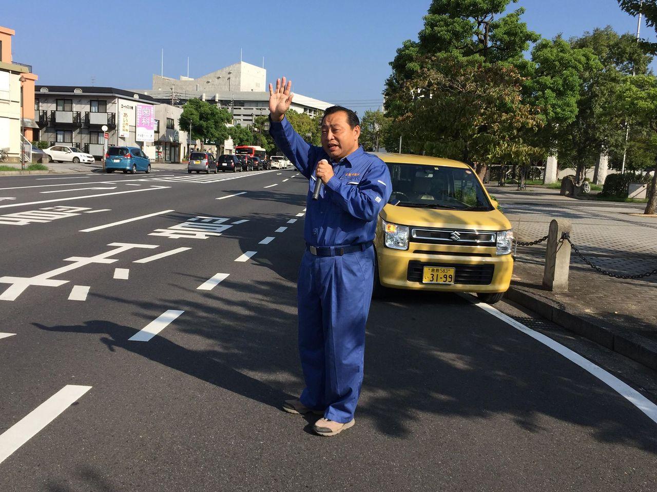 9.18街頭演説
