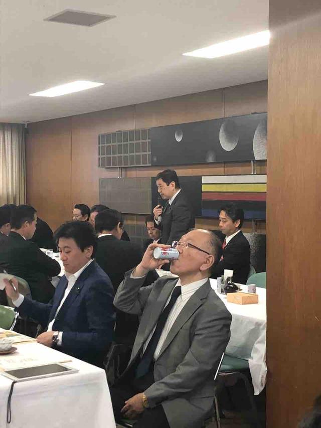 山田修路先生が自民党輸出委員会でご発言