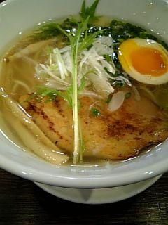 軍鶏塩蕎麦2