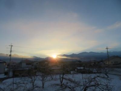 雪の明日は0721日の出202101137時1分IMG_7479