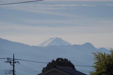 市役所駐車場から見た富士山IMGP5408