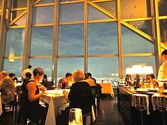 講演の後に行った素晴らしいレストラン ニューヨークグリル @ パークハイアット