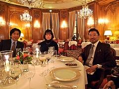 パリ研修シリーズ 9:番外編 三ツ星レストラン ル・ブリストル