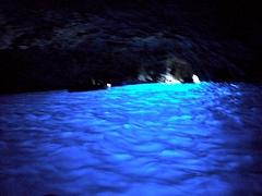イタリアの旅3:カプリ島の青の洞窟