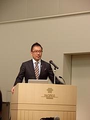 日本国際歯科大会での講演 @ パシフィコ横浜 2