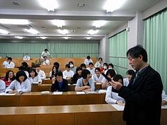 新潟大学での講義