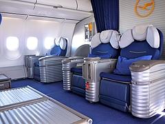 旅の飛行機:ルフトハンザ ファーストクラス
