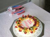 レセプション_ウェデングケーキ