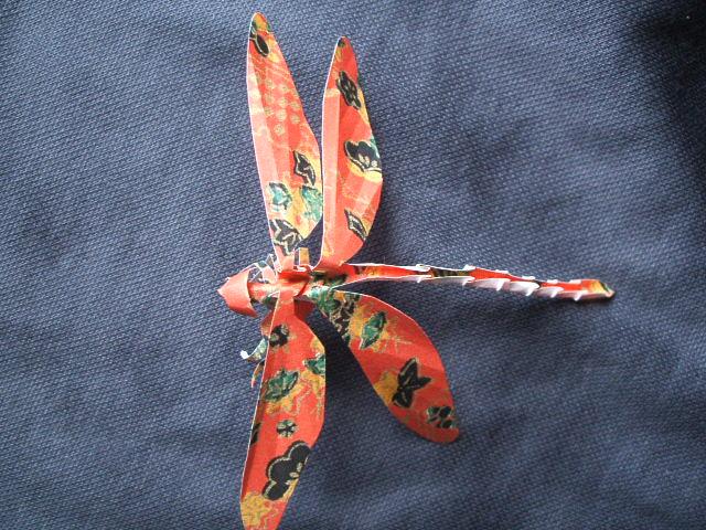 クリスマス 折り紙:トンボ 折り紙-divulgando.net
