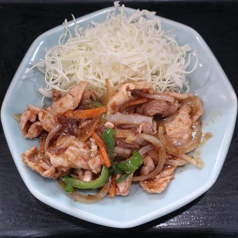 豚生姜焼(玉河)