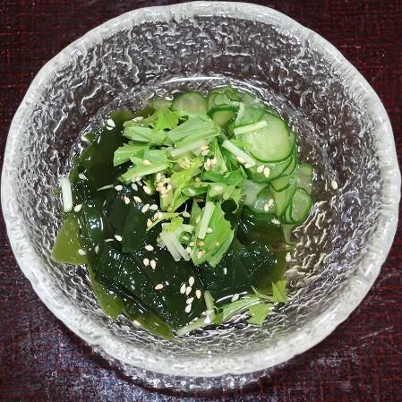 酢の物(寿司清)