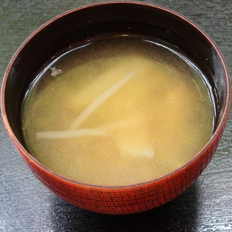 味噌汁(東大和食堂)