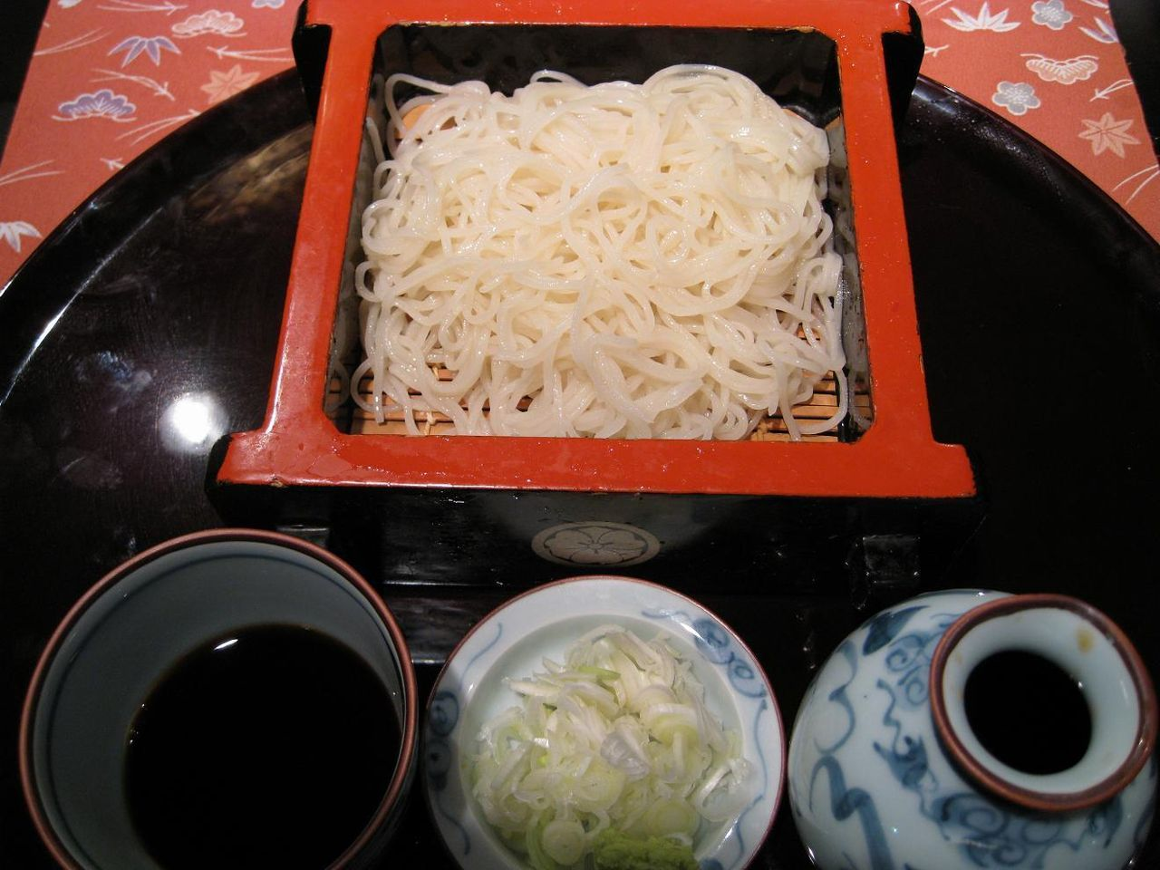 御膳(更科)蕎麦