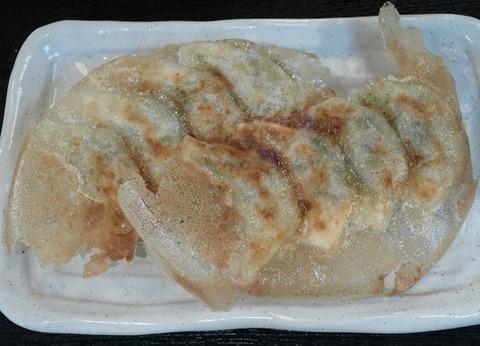 餃子定食(だいやめ)600