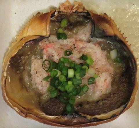 蟹味噌甲羅焼(浜焼太郎)645