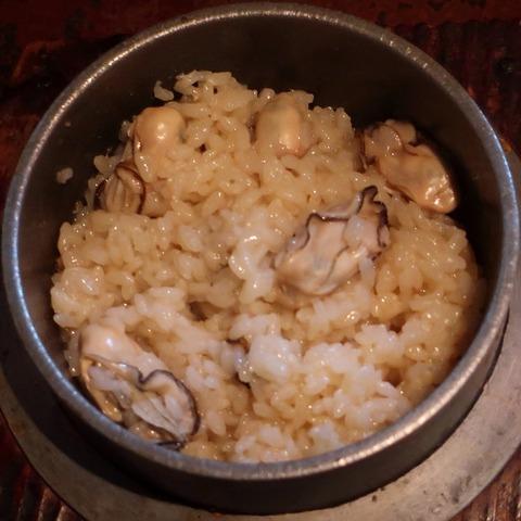 牡蠣釜飯(波浮港)1780