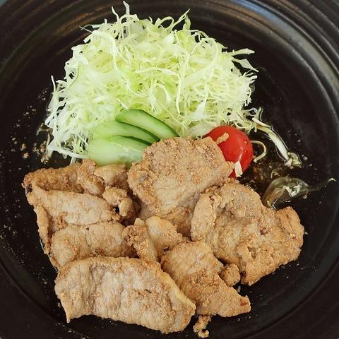 豚生姜焼定食(グレイス)580