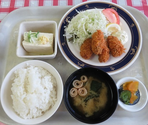 カキフライ定食730