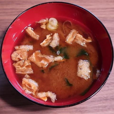 味噌汁(ゑびす屋)