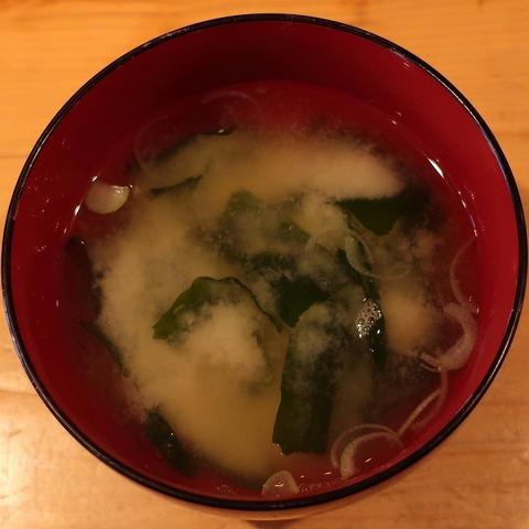 味噌汁(むさしの食堂)